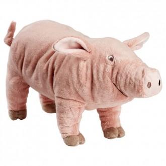 Ikea КНОРРИГ Мягкая игрушка, розовый поросенок. В наличии. Киев. фото 1