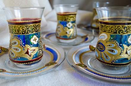 Армуды для чая. Стаканчики турецкие азербайджанские для чая.. Киев. фото 1