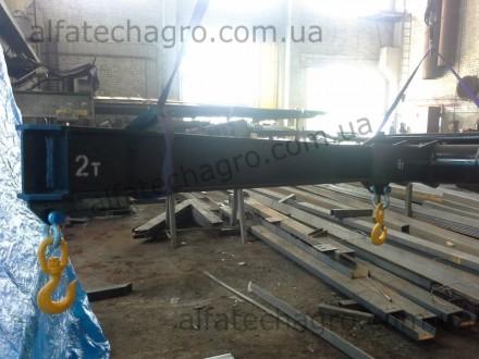 Представляем Вашему вниманию новые кран-балки для погрузчиков. Длина 3 метра.. Киев, Киевская область. фото 7