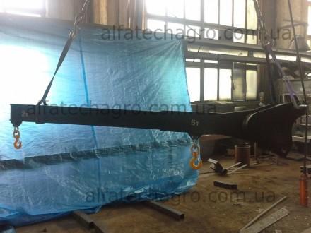 Представляем Вашему вниманию новые кран-балки для погрузчиков. Длина 3 метра.. Киев, Киевская область. фото 5