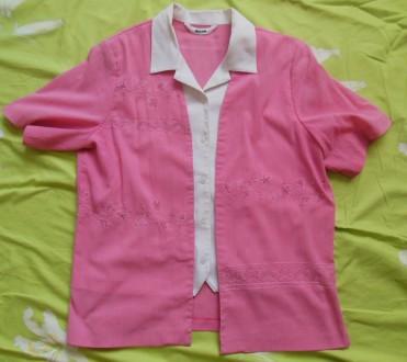 Блуза-обманка женская. Великий Бурлук. фото 1