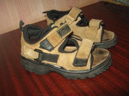 Босоножки детские кожаные Bobbi shoes. Кременчуг. фото 1