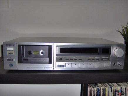 SONY TC-K555 - классическая кассетная трёхголовочная дека от SONY в отличном сос. Херсон, Херсонская область. фото 2