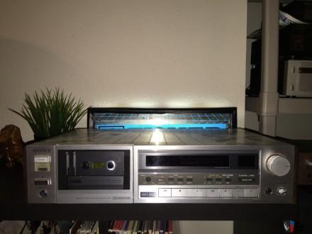 SONY TC-K555 - классическая кассетная трёхголовочная дека от SONY в отличном сос. Херсон, Херсонская область. фото 3