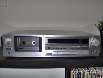 SONY TC-K555 - классическая кассетная трёхголовочная дека от SONY в отличном сос. Херсон, Херсонская область. фото 1