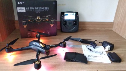 Квадрокоптер Hubsan H501S X4. GPS, FPV Full HD камера. Новый!. Львов. фото 1