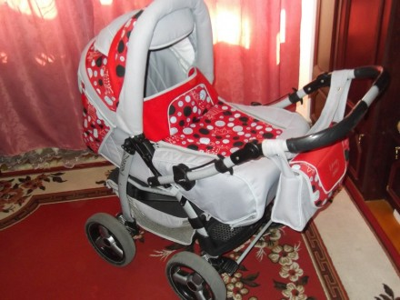 Дитяча коляска 2в1 Adamex Young. Львов. фото 1