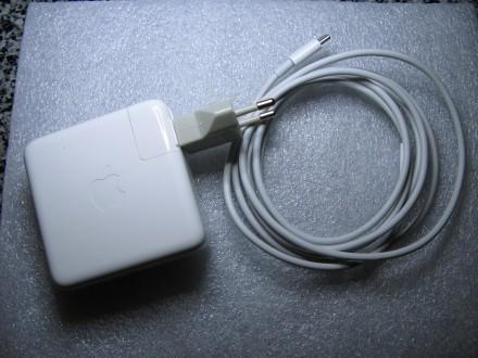 Блок питания + кабель MacBook Pro Apple 61W USB-C. Запорожье. фото 1