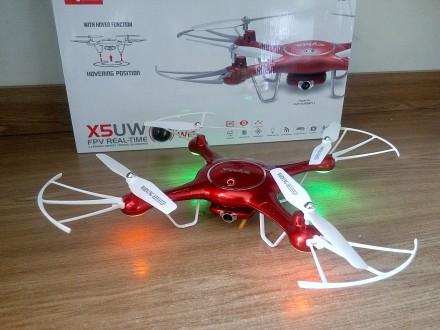 Новий квадрокоптер Syma X5UW (FPV Wi-Fi камера) покращена версія X5HW. Львов. фото 1