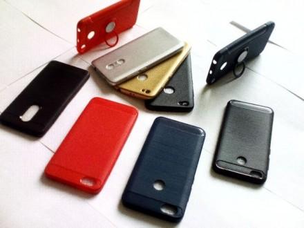 Чехол-бампер iPaky(Slim)Xiaomi Redmi4А,4Х,5А,5,5Plus/Note4,4X,5А+защитное стекло. Чернигов. фото 1