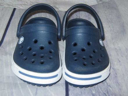 Стильные кроксы Crocs (оригинал), размер 4-5 (EU 21-22). Черноморск (Ильичевск). фото 1
