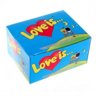 Жвачки Love is. Ахтырка. фото 1