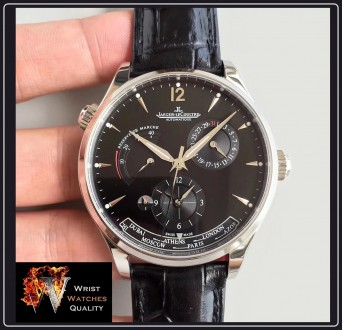 Jaeger-LeCoultre - Master Geographic World Time Silver dial Stainless steel Ref. Киев, Киевская область. фото 11
