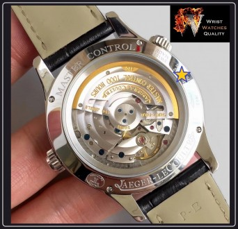 Jaeger-LeCoultre - Master Geographic World Time Silver dial Stainless steel Ref. Киев, Киевская область. фото 6