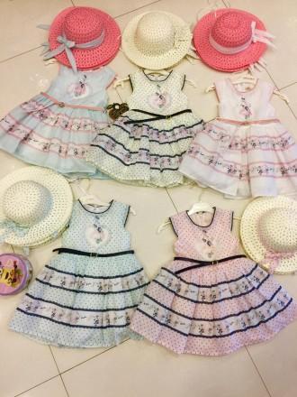 Красивое и нежное платье для девочки Moonstar Турция. Мариуполь. фото 1