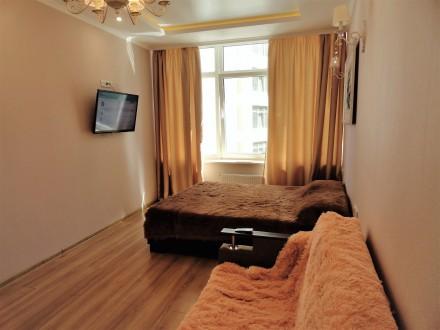 Сдам квартиру с шикарным видом на море в Аркадии. ЖК «27 Жемчужина» 1к квартира1. Аркадия, Одесса, Одесская область. фото 3