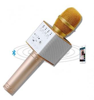 Беспроводной микрофон караоке bluetooth Q9. Днепр. фото 1