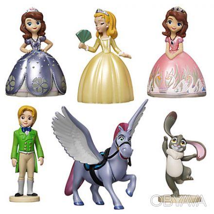 Размер фигурок: до 10 см  Производитель: Disney, США  Для детей: от 3-х лет  . Запорожье, Запорожская область. фото 1