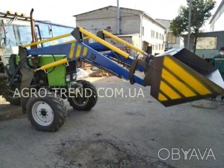 Фронтальный погрузчик для тракторов МТЗ, ЮМЗ, Т-40