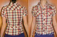 Рубашка вклетку - дешево. Одесса. фото 1