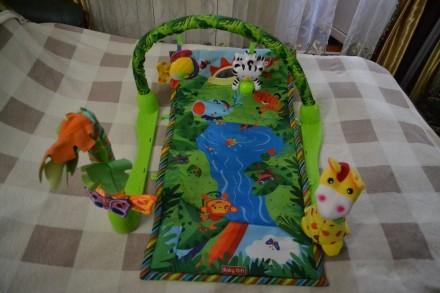 Гарний гімнастичний килимок для немовлят, за допомогою якого малюк буде швидше р. Киев, Киевская область. фото 5
