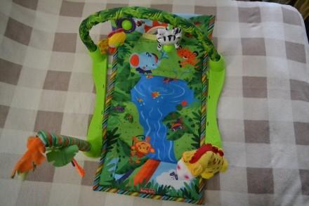 Гарний гімнастичний килимок для немовлят, за допомогою якого малюк буде швидше р. Киев, Киевская область. фото 3