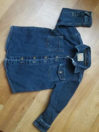 Рубашка джинсовая. Кременчуг. фото 1