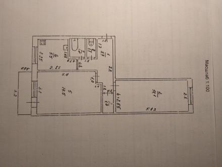 Продам двухкомнатную квартиру. Купянск. фото 1