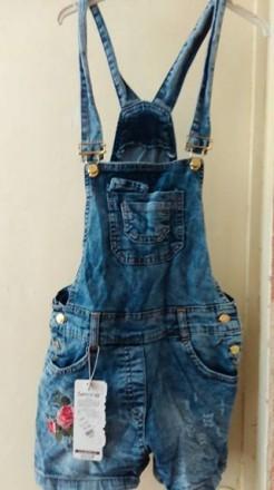 Комбінезон джинсовий. Житомир. фото 1
