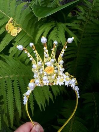 Корона ручной работы,корона для девочки. Днепр. фото 1