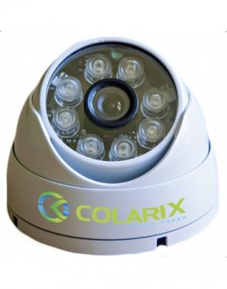 Видеокамеры цветные для систем безопасности. Днепр. фото 1