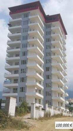 Турция.Алания. новые апартаменты с видом на море, махмутлар. Одесса. фото 1