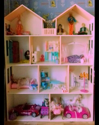 Кукольный домик: купить развивающую игрушку   Оригинальные кукольные домики дл. Днепр, Днепропетровская область. фото 5