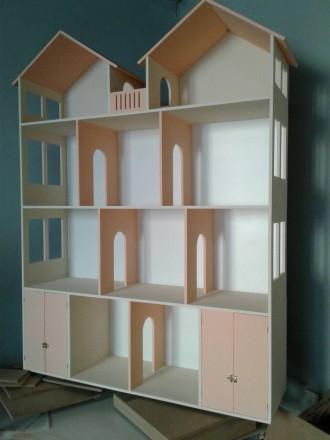 Кукольный домик: купить развивающую игрушку   Оригинальные кукольные домики дл. Днепр, Днепропетровская область. фото 7