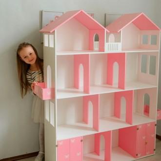 Кукольный домик: купить развивающую игрушку   Оригинальные кукольные домики дл. Днепр, Днепропетровская область. фото 4