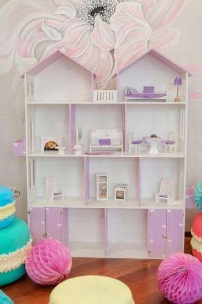 Кукольный домик: купить развивающую игрушку   Оригинальные кукольные домики дл. Днепр, Днепропетровская область. фото 3