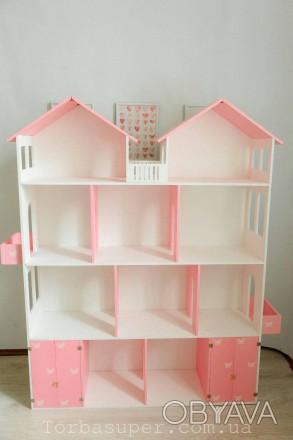 Кукольный домик: купить развивающую игрушку   Оригинальные кукольные домики дл. Днепр, Днепропетровская область. фото 1