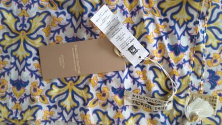Ультрамодный платок, хлопок( maison scotch, 112×112, нидерланды за 1 шт. Полтава. фото 1