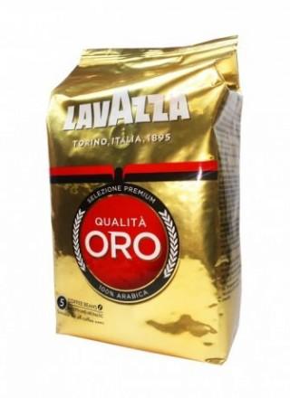 Оригинальный кофе в зернах Lavazza Qualita Oro 1 кг.. Харьков. фото 1