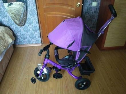 Продам детский велосипед трехколесный. Чоп. фото 1