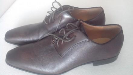 Продам Туфли ALDO 42, коричневые кожа, (аутлет), оксфорды, передняя часть как де. Киев, Киевская область. фото 2