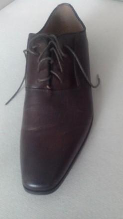 Продам Туфли ALDO 42, коричневые кожа, (аутлет), оксфорды, передняя часть как де. Киев, Киевская область. фото 6