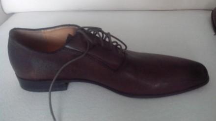 Продам Туфли ALDO 42, коричневые кожа, (аутлет), оксфорды, передняя часть как де. Киев, Киевская область. фото 5