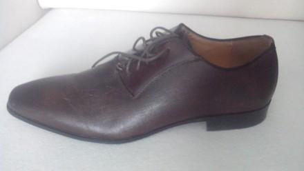 Продам Туфли ALDO 42, коричневые кожа, (аутлет), оксфорды, передняя часть как де. Киев, Киевская область. фото 4