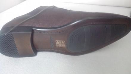Продам Туфли ALDO 42, коричневые кожа, (аутлет), оксфорды, передняя часть как де. Киев, Киевская область. фото 7