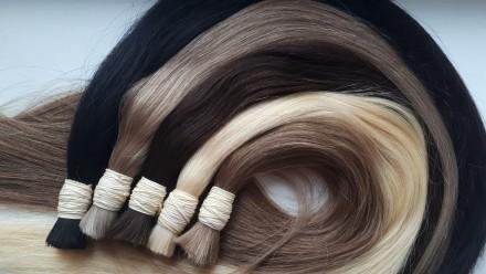 Натуральные волосы для наращивания. Киев. фото 1