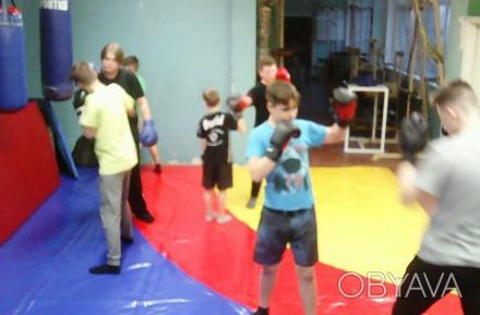 зал единоборств Троя проводит набор детской группы на бокс  тренер призер чемпи. Киев, Киевская область. фото 1