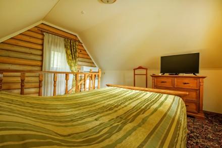 аренда  деревянных коттеджей для комфортного отдыха. Киев. фото 1