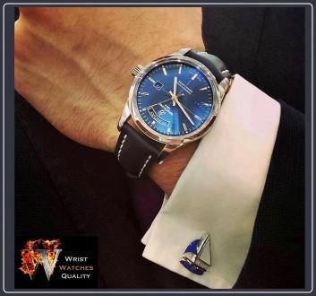 BREITLING - Transocean Day & Date Aurora Blue Automatic - Steel (Limited) Ref: . Киев, Киевская область. фото 13