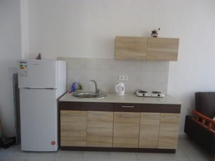 Сдам 1-комнатную квартиру с просторной кухней-гостиной на 3 этаже 4-этажного мал. Каролино-Бугаз, Одесская область. фото 4
